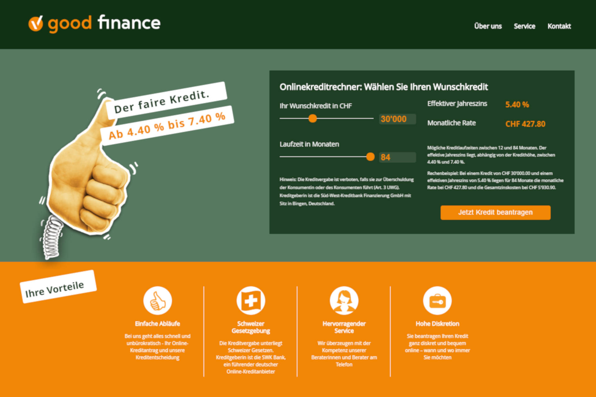 good finance Website