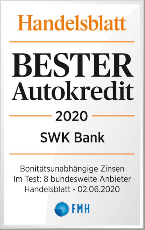 Bester Autokredit 2020